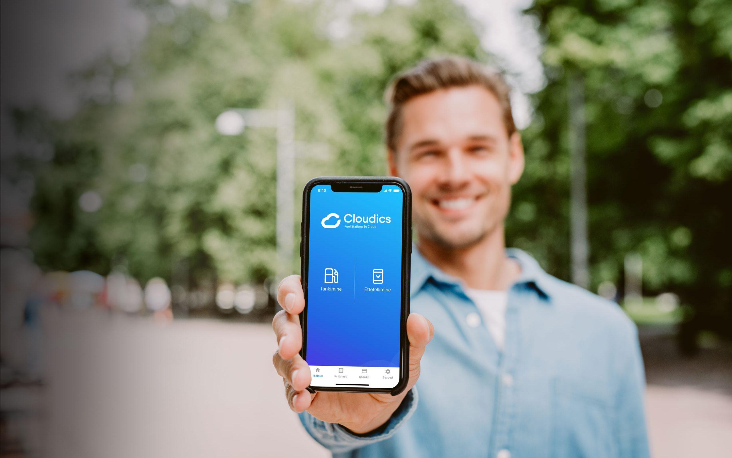 Cloudics mobiilne makselahendus ja app