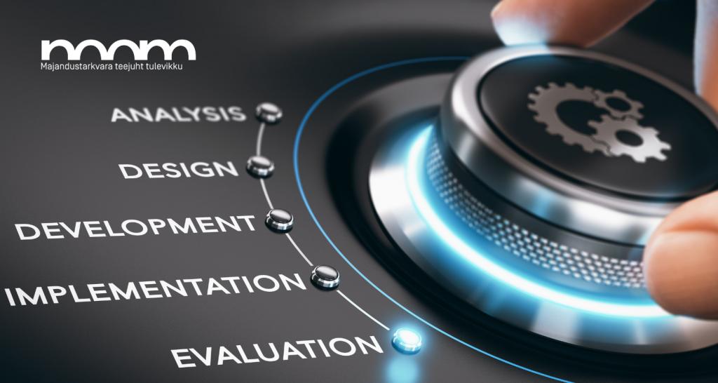 NOOM majandustarkvara - tarkvara juurutamine - 8 sammu tarkvara juurutamiseks.